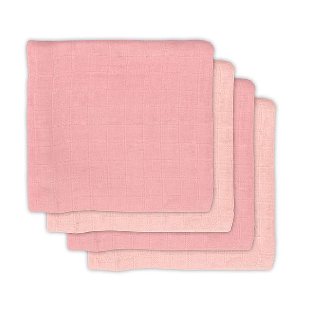Jollein Bamboe Hydrofiele Multidoek Small - Pale Pink (set van 4)