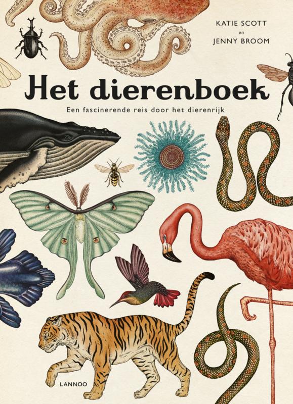 Uitgeverij Lannoo Het Dierenboek - Katie Scott & Jenny Broom