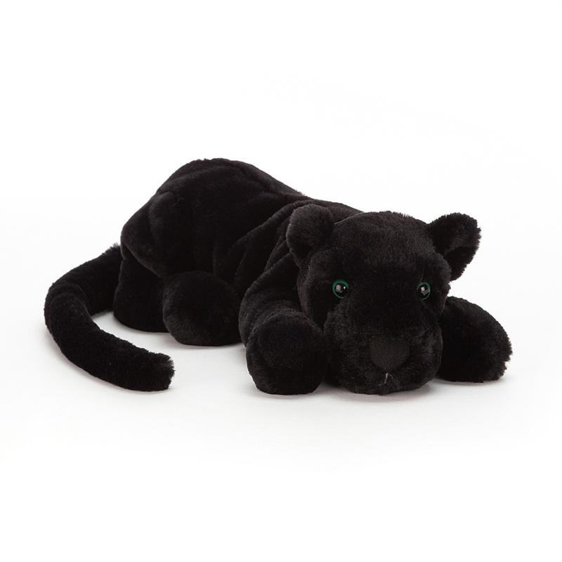Jellycat Big Cats Paris Panther Medium - Knuffel Zwarte Panter (29 cm)