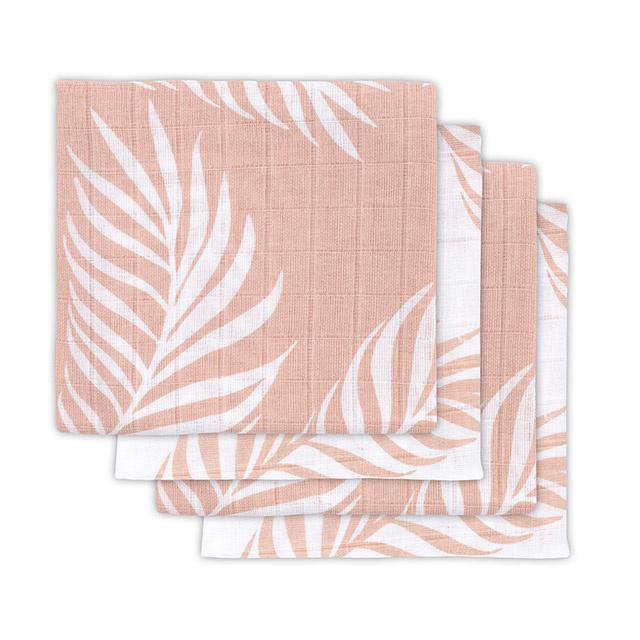 Jollein Hydrofiele Doek Small Nature - Pale Pink (set van 4)