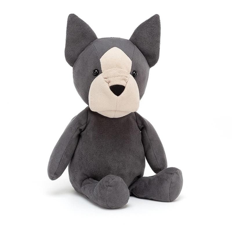 Jellycat Puppy Pals Fido French Bulldog - Knuffel Franse Bulldog