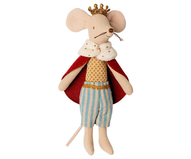 Maileg King Mouse - Koning Muis (15 cm)
