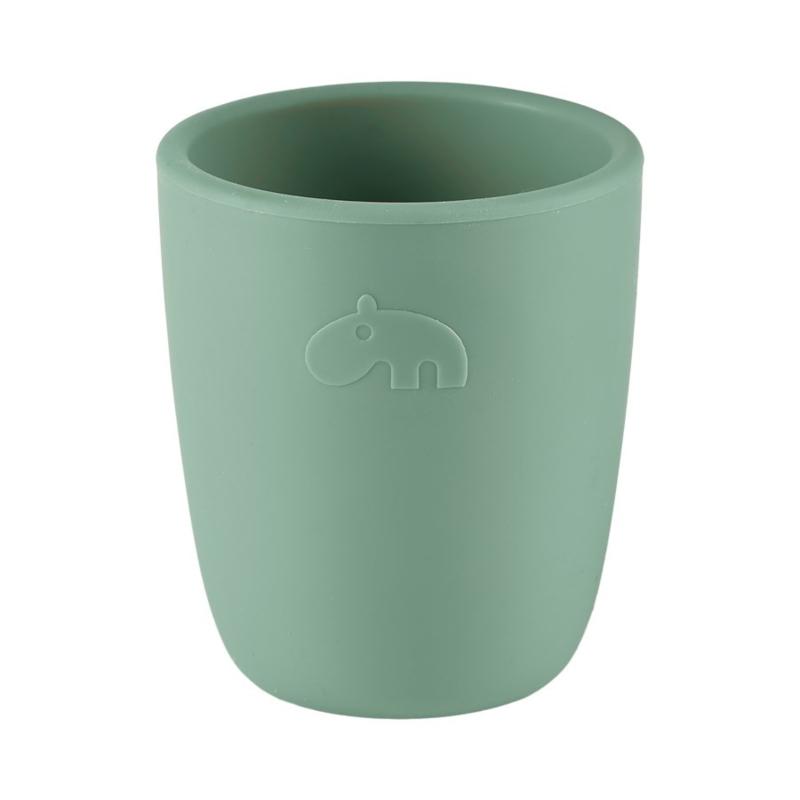 Done by Deer Siliconen Mini Mug Drinkbeker - Groen