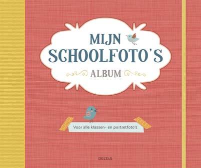 Uitgeverij Deltas Mijn Schoolfoto's Album - Rood