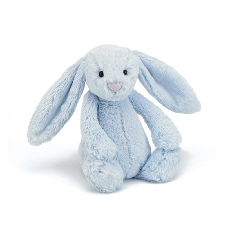 Jellycat Bashful Bunny Blue - Knuffel Konijn (36 cm)