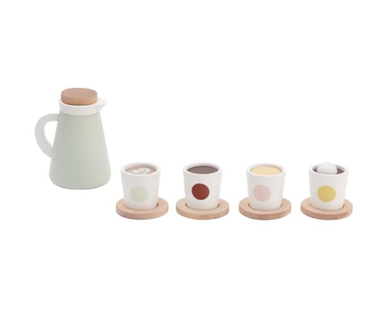 Kids Concept Houten Koffieset Fika
