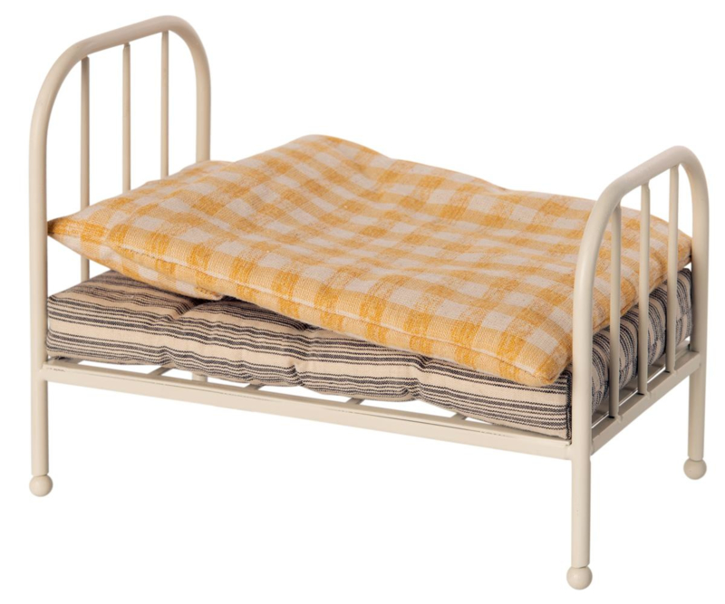 Maileg Metal Vintage Bed - Teddy Junior