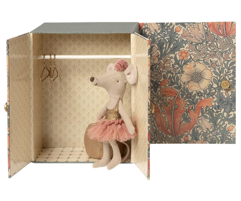 Maileg Dance Room with Big Sister (13 cm)