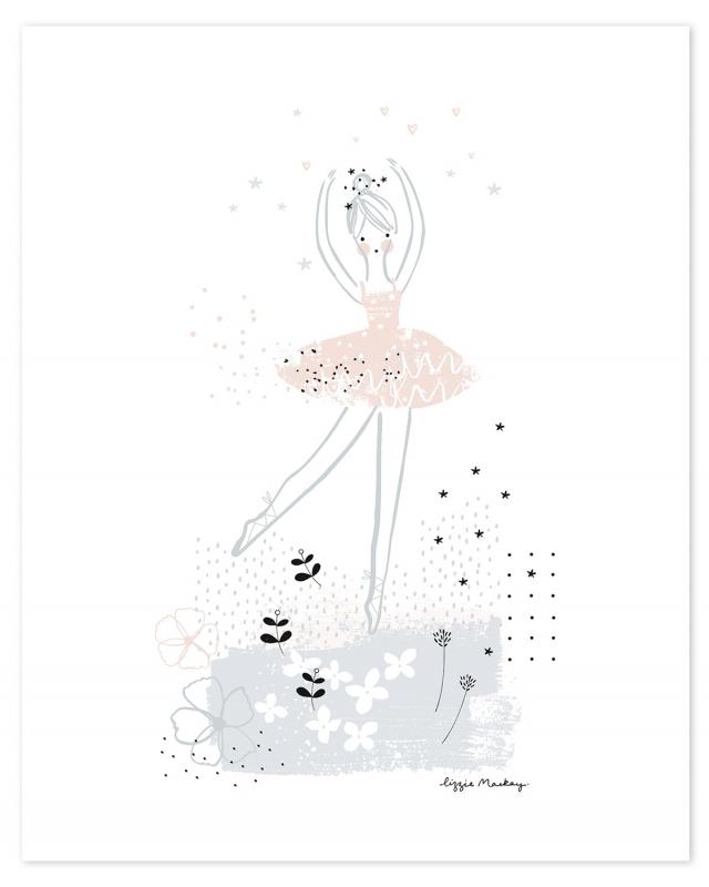 Lilipinso Ballerina Ballerina Dansend - Poster (P0203)