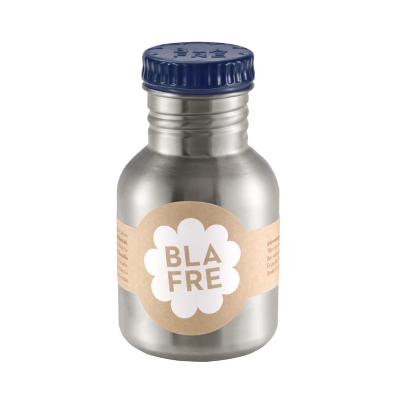 Blafre Drinkfles RVS - Marine Blauw (300ml)