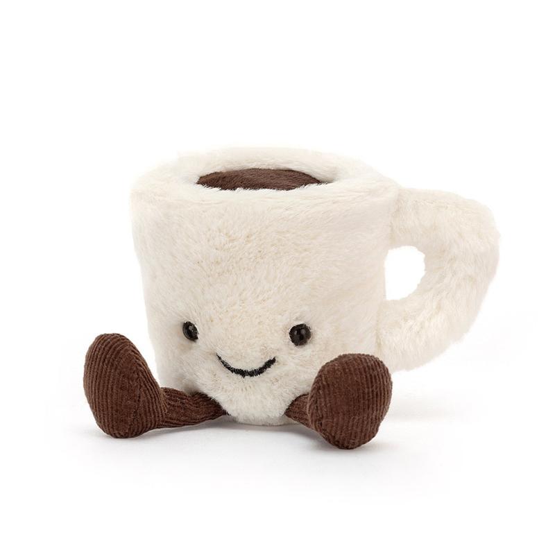 Jellycat Amuseable Espresso Cup - Knuffel Espresso Kopje