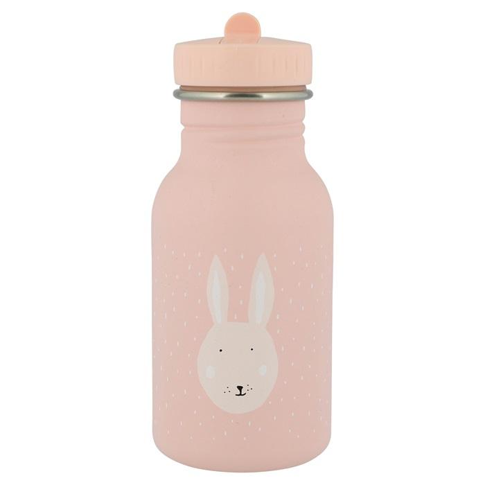 Trixie Drinkfles RVS Mrs. Rabbit - Licht Roze (350 ml)