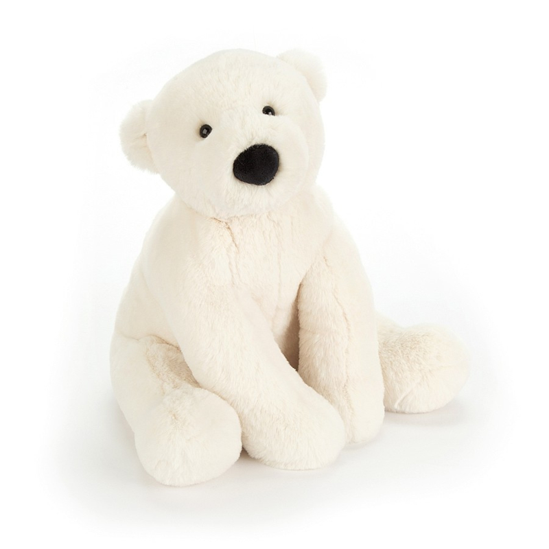 Jellycat Scrumptious Perry Polar Bear Large - Knuffel IJsbeer (36 cm)