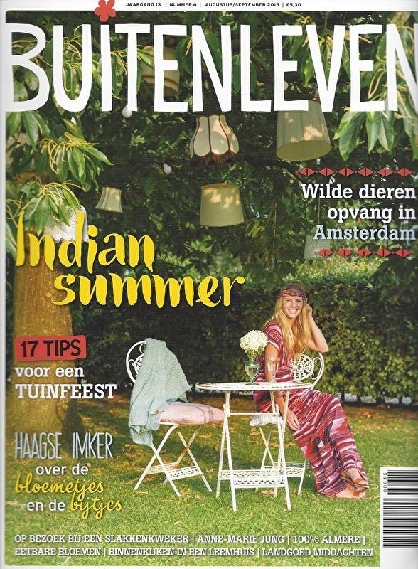 Publicatie - Buitenleven - 08/2015