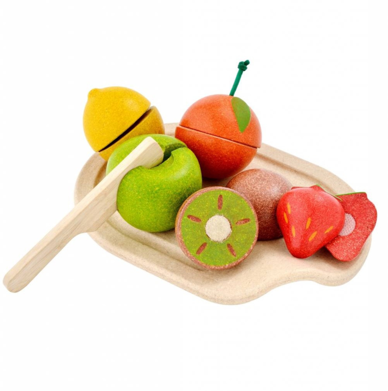 Plantoys Houten Fruit Set - Mix