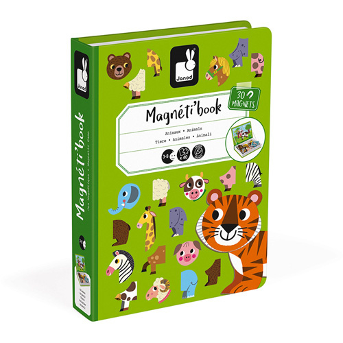 Janod Magneetboek - Dieren