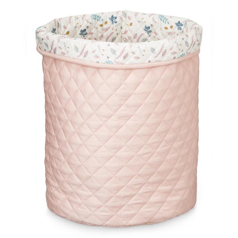 CamCam Copenhagen Quilted Opbergmand Large - Blossom Pink (op=op)