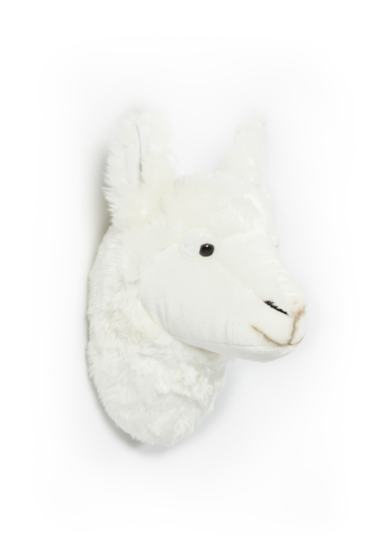 Wild and Soft Dierenkop - Lama