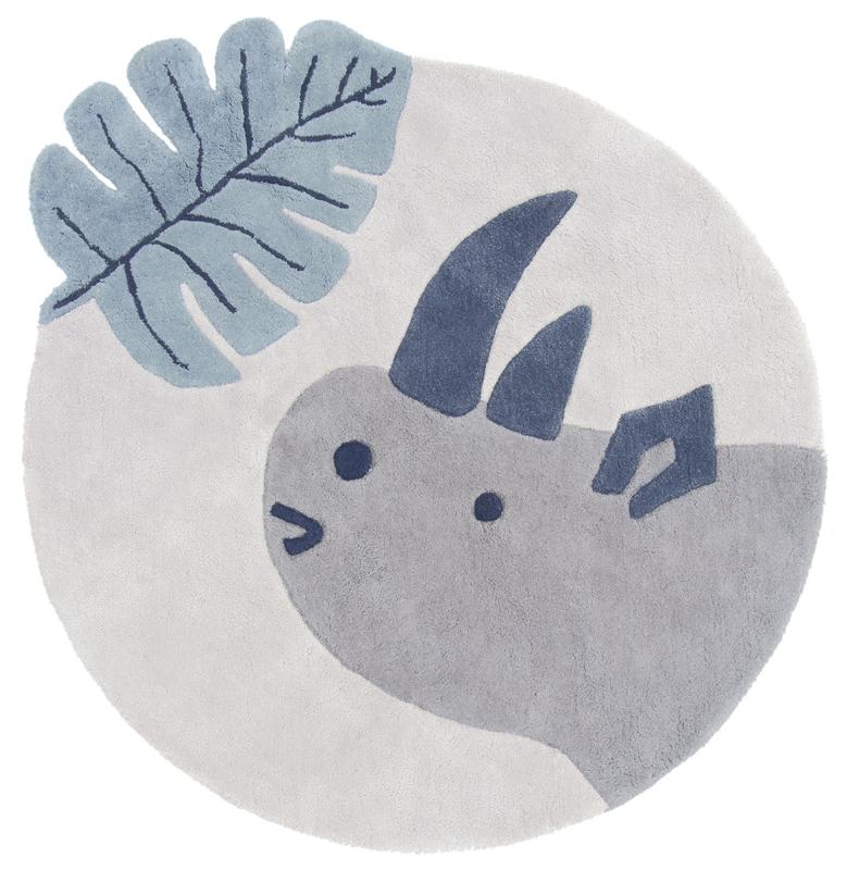 Lilipinso Tanzania Vloerkleed - Neushoorn