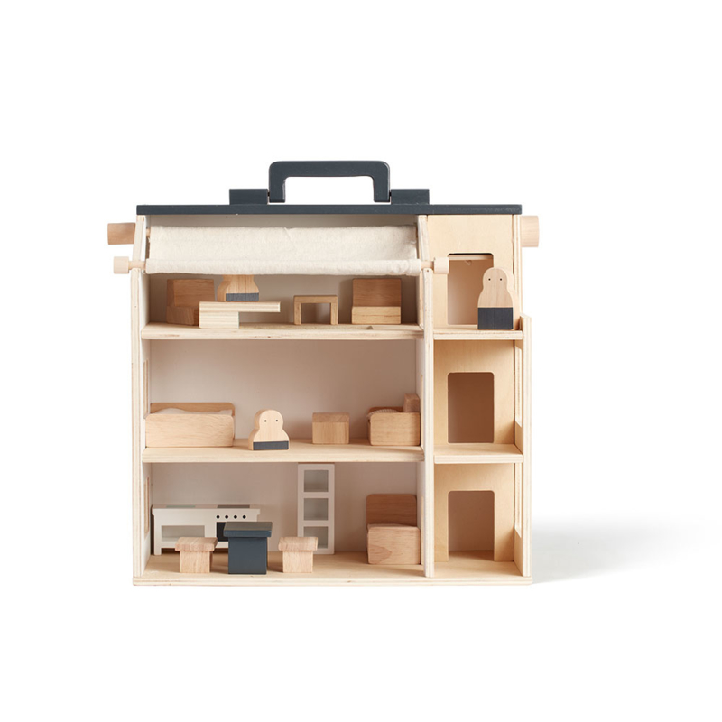 Kids Concept Poppenhuis - Studio House (incl. meubeltjes!) (op=op)