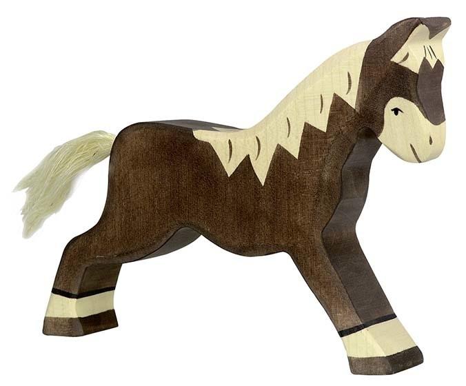 Holztiger Paard  - Donker bruin (80034)