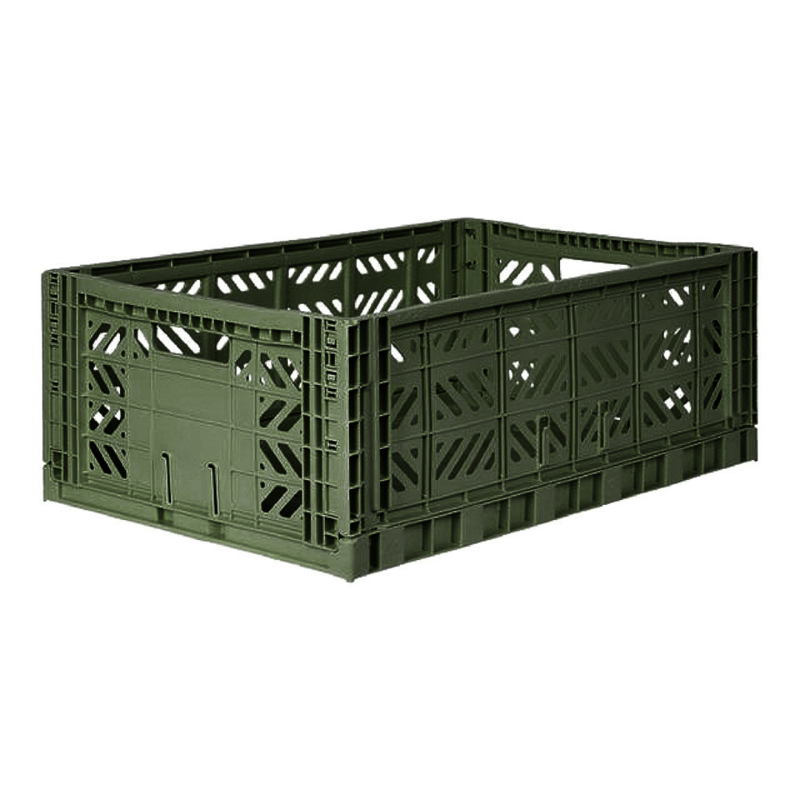 AyKasa Folding Crate Maxi Box - Khaki