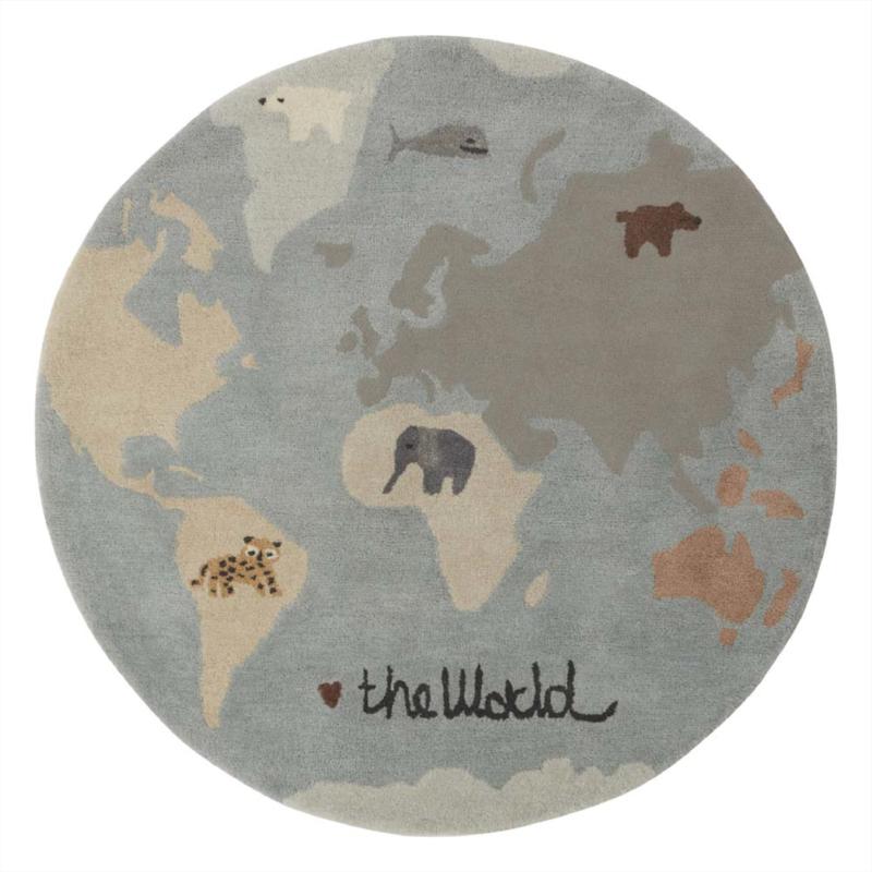 OYOY Vloerkleed - The World