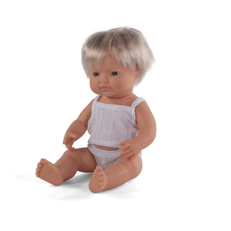 Miniland Pop Europees - Boy (38 cm)