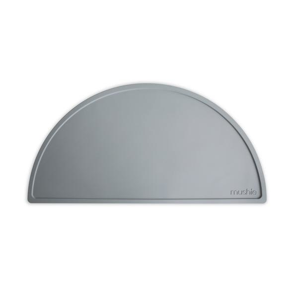 Mushie Placemat Silicone Place Mat - Stone