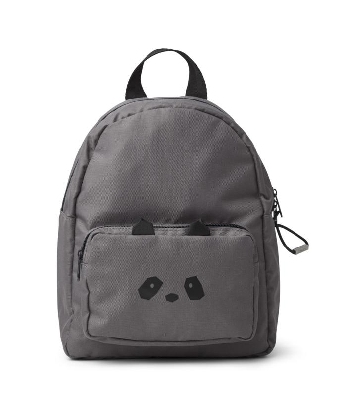 Liewood Allan Backpack Rugtas - Panda Stone Grey