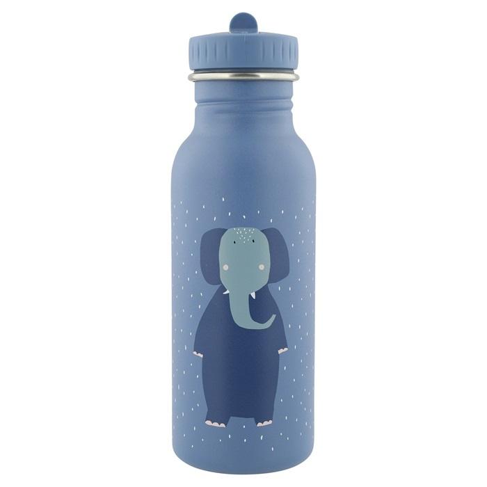 Trixie Drinkfles RVS Mrs. Elephant - Blauw (500 ml)