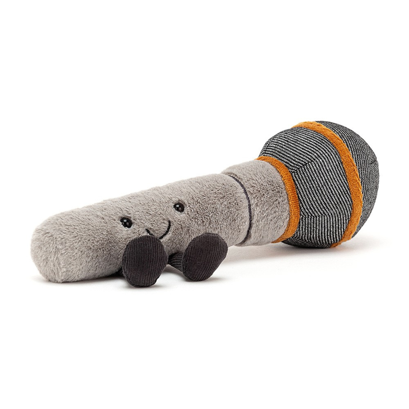 Jellycat Amuseable Microphone - Knuffel Microfoon (21 cm)