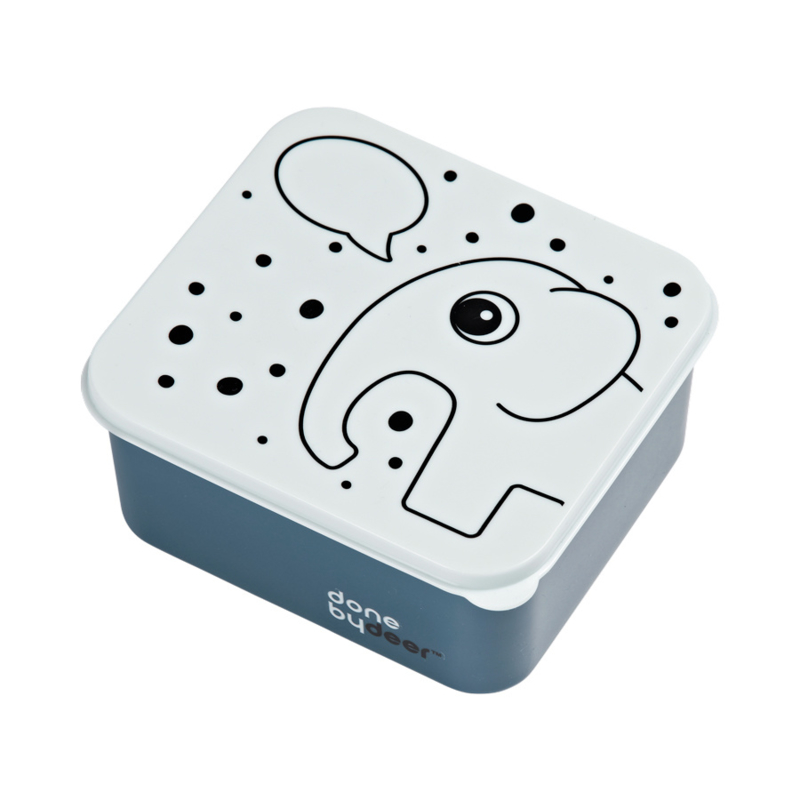 Done by Deer Lunchbox Contour - Blauw