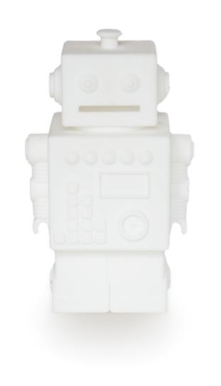KG Design Spaarpot Robot - Wit