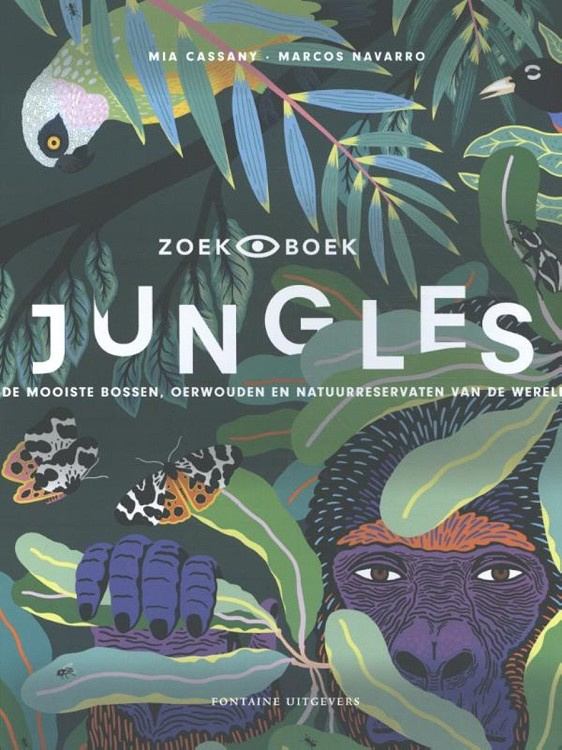 Uitgeverij Fontaine Jungles - Mia Cassany