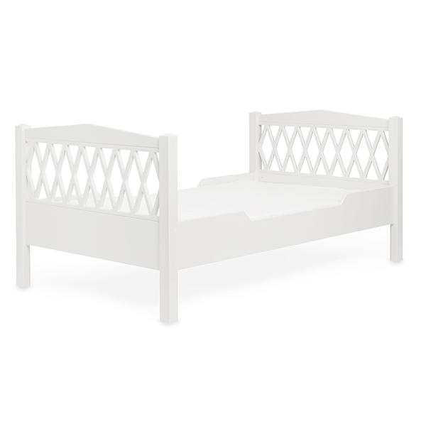 CamCam Harlequin Junior bed - Wit (90cm x 160cm)