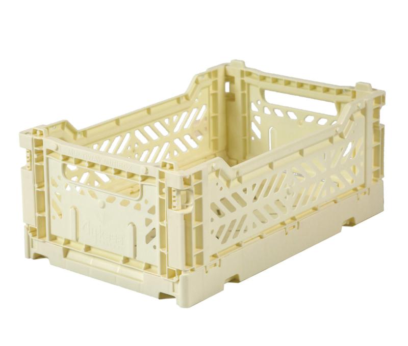 AyKasa Folding Crate Mini Box - Banana