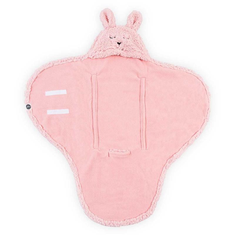 Jollein Wikkeldeken Bunny - Pink