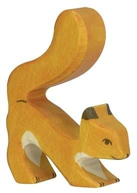 Holztiger Eekhoorn Oranje - Staart omhoog (80105)