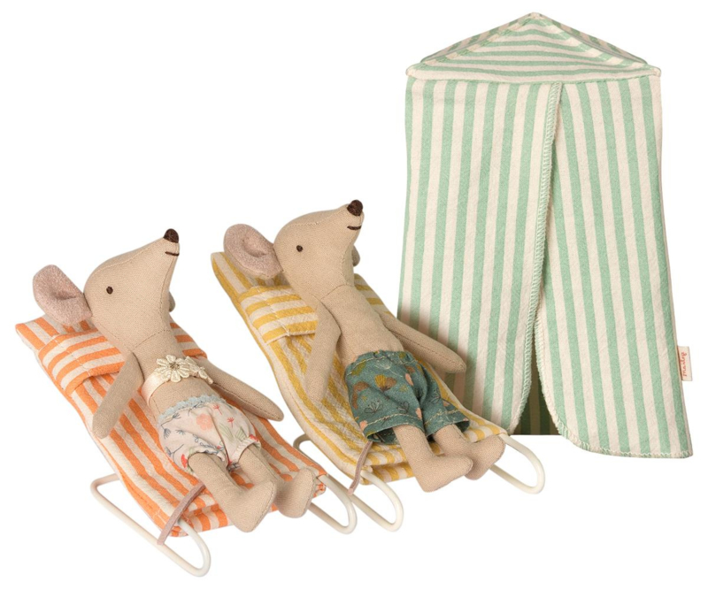 Maileg Mouse Vacation (12 cm)
