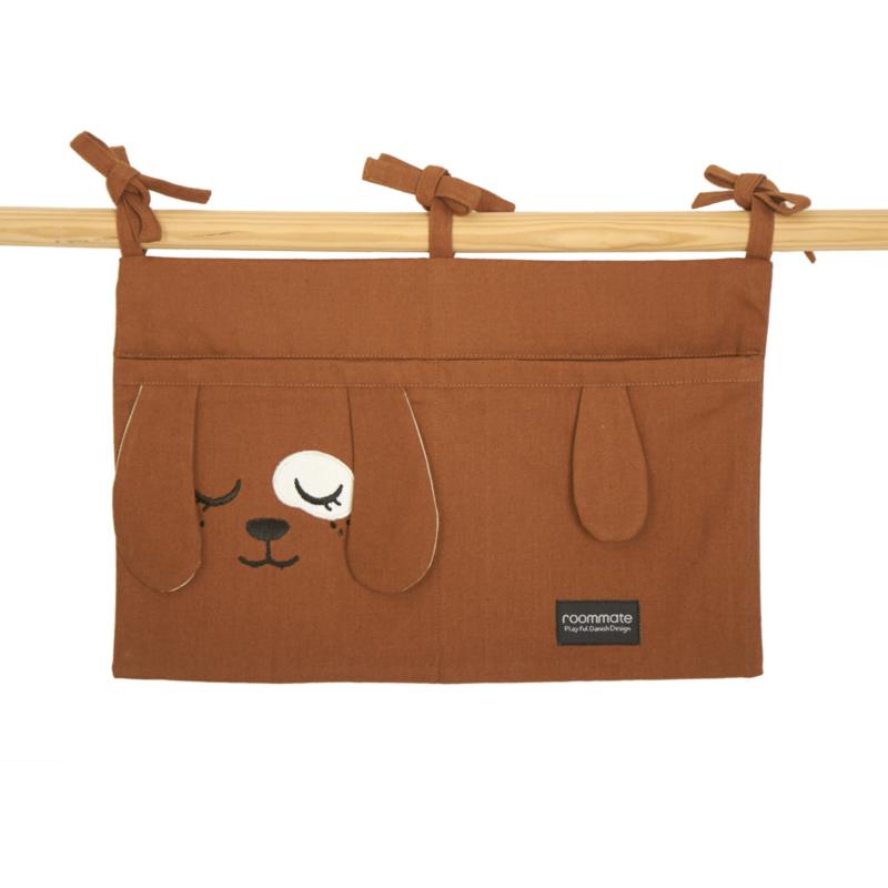 Roommate Box Opbergzak Hond - Brown