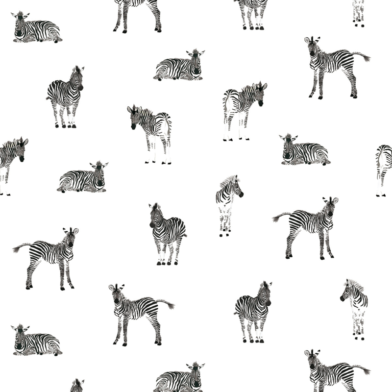 Zebra Print Behang.Sample Lilipinso Serengeti Behang Zebra H0463 Serengeti