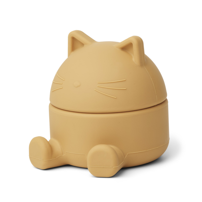Liewood Bewaardoosje Margaret Treasure Box Cat - Yellow Mellow