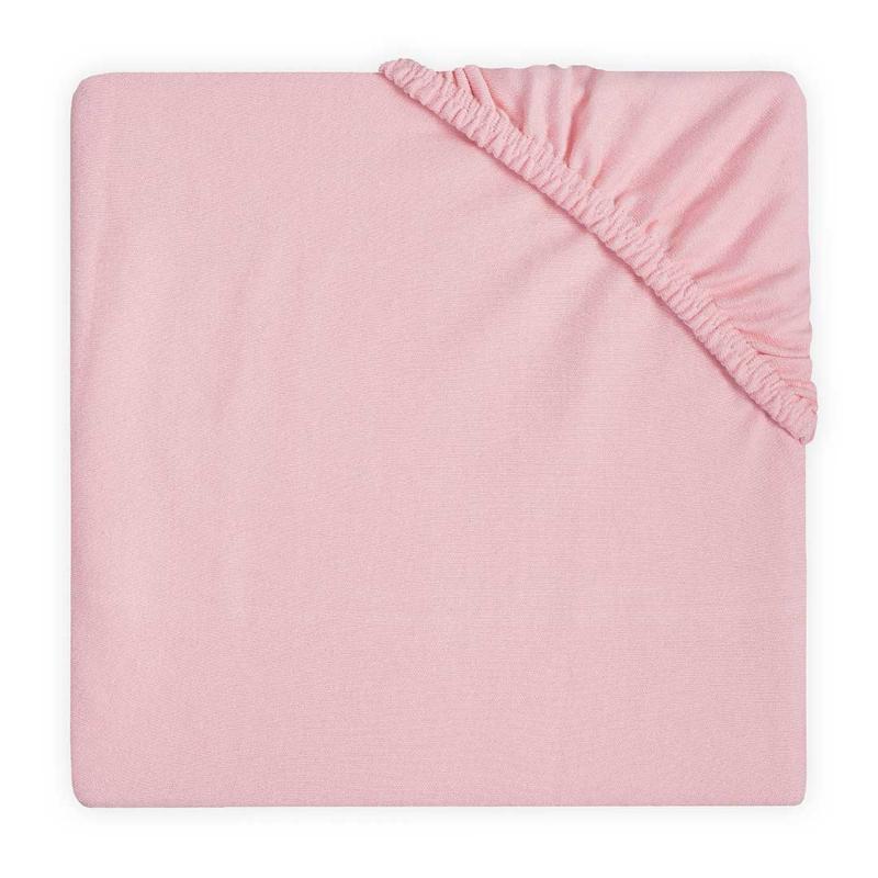 Jollein Hoeslaken Ledikant Double Jersey - Blush Pink (60 x 120 cm)