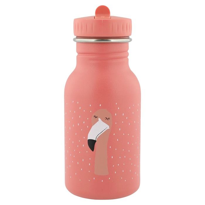 Trixie Drinkfles RVS Mrs. Flamingo - Roze (350 ml)