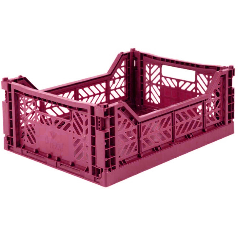 AyKasa Folding Crate Midi Box - Chilli Pepper