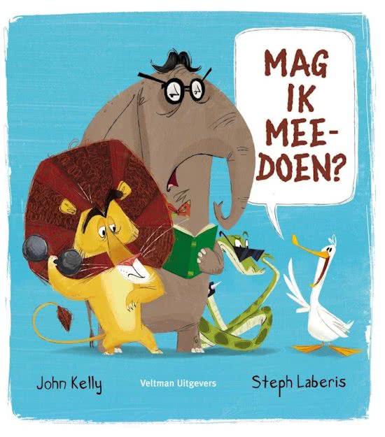 Uitgeverij Veltman Mag ik mee doen ? - John Kelly