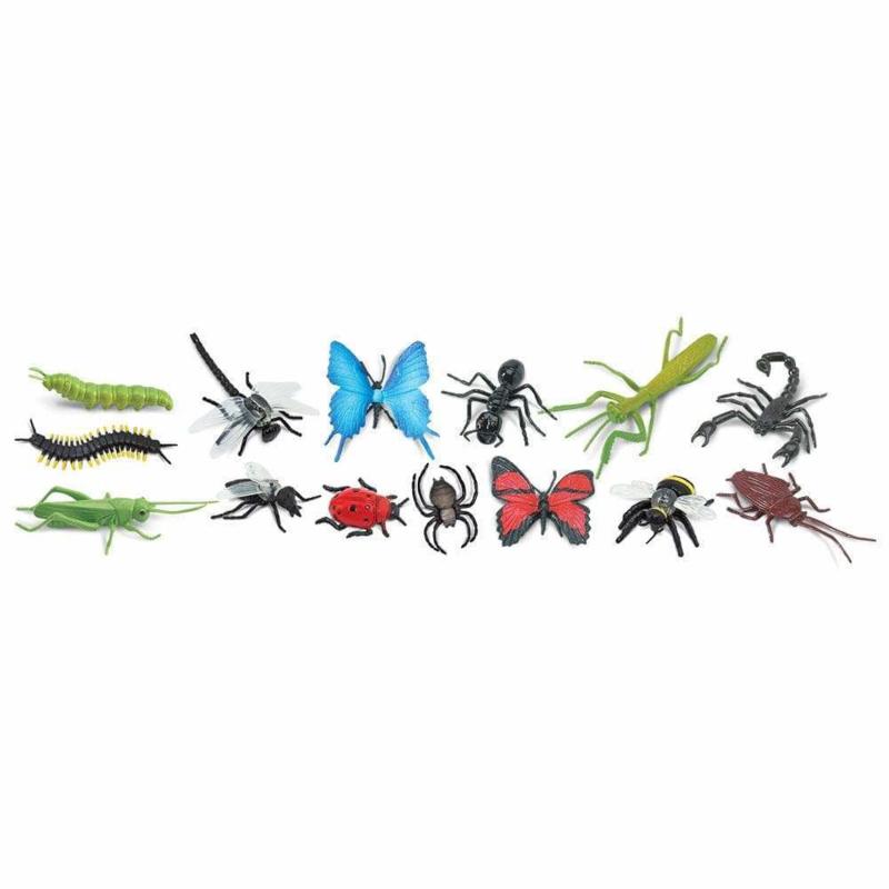 Safari Speelfiguren Toob Set - Insecten