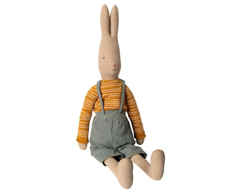 Maileg Rabbit Winter Overalls - Size 5 (67 cm)