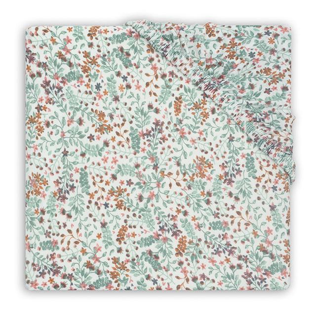 Jollein Hoeslaken Ledikant Jersey Bloom (60 x 120 cm)